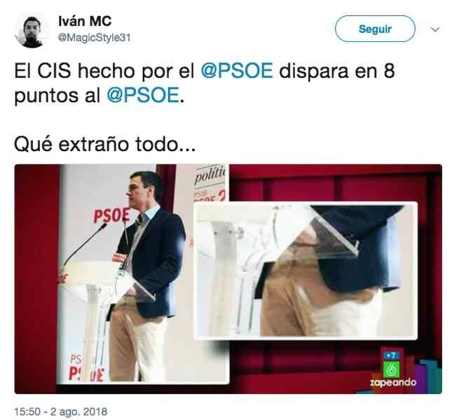 los memes del cis 02 - Los memes dan ganador al PSOE igual que el CIS.