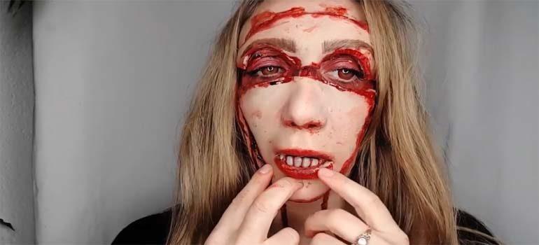 vídeo impresionante para disfrazarte en halloween