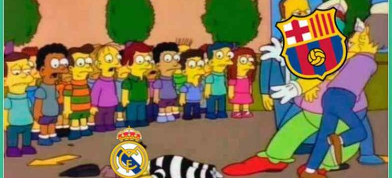 Memes del partido Barcelona contra Real Madrid