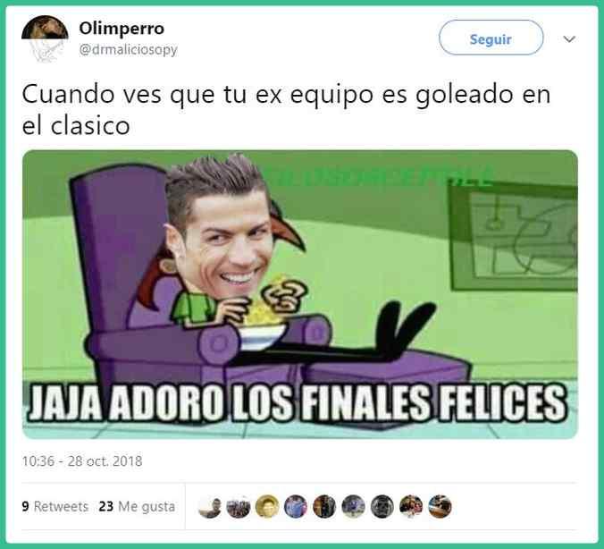 memes barcelona vs realmadrid 04 - Memes del Barcelona vs Real Madrid.
