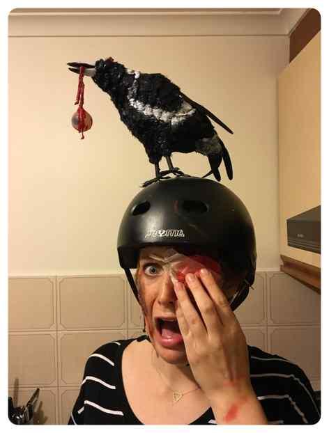 Disfraz de la película Los Pájaros