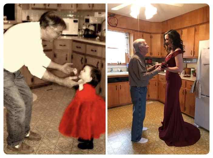 Como pasa el tiempo, fotos de antes y de ahora. 6