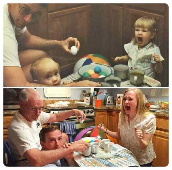 Como pasa el tiempo, fotos de antes y de ahora. 7