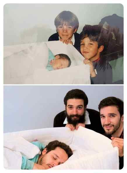 Como pasa el tiempo, fotos de antes y de ahora. 2