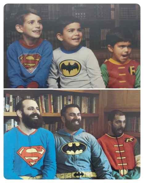 Como pasa el tiempo, fotos de antes y de ahora. 20