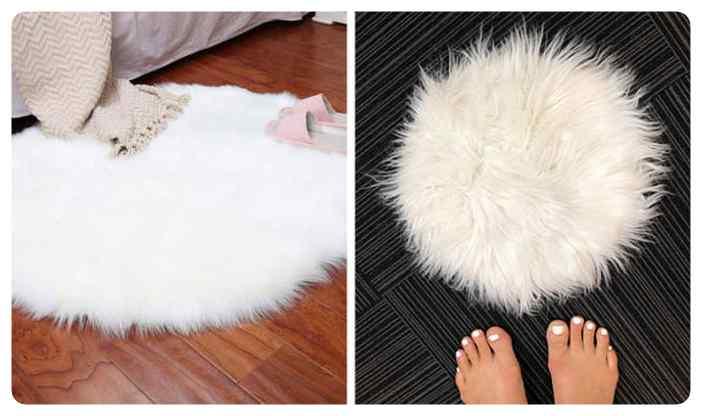 Tu compras una estupenda alfombra y lo que te llega es una pelusa del ombligo.