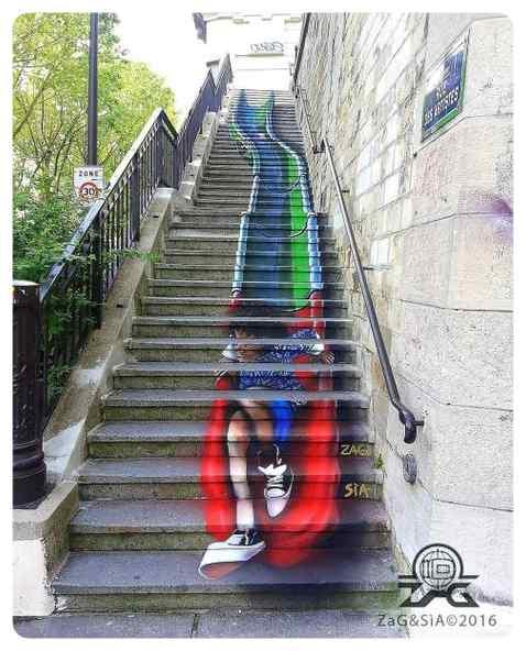 Espectaculares graffitis, no son letras y dibujos son obras de arte. 3