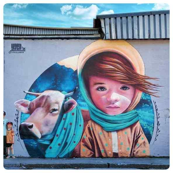 Espectaculares graffitis, no son letras y dibujos son obras de arte. 24