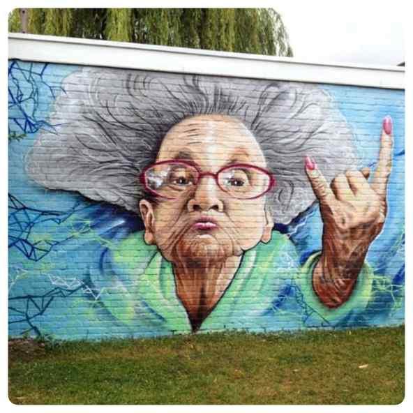 Espectaculares graffitis, no son letras y dibujos son obras de arte. 4