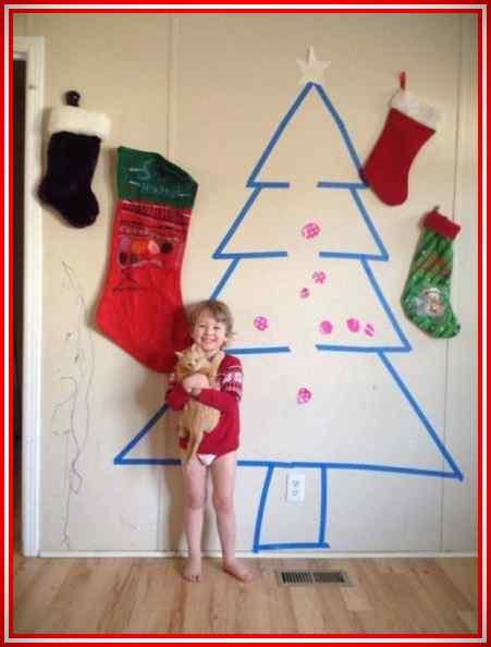 Imágenes de la Navidad de gente muy vaga. 5