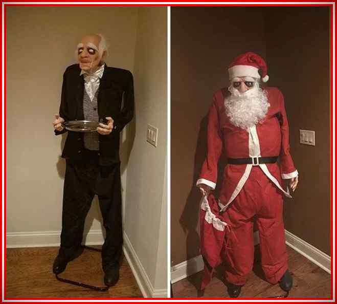 Imágenes de la Navidad de gente muy vaga. 8