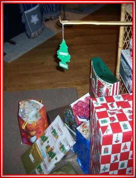 Imágenes de la Navidad de gente muy vaga. 10