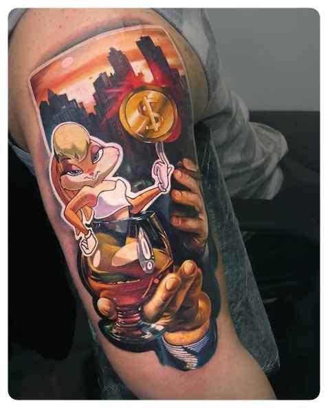 Increíbles tatuajes, son obras de arte sobre la piel. 9