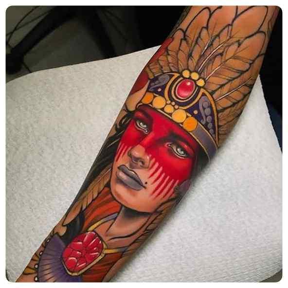 Increíbles tatuajes, son obras de arte sobre la piel. 2
