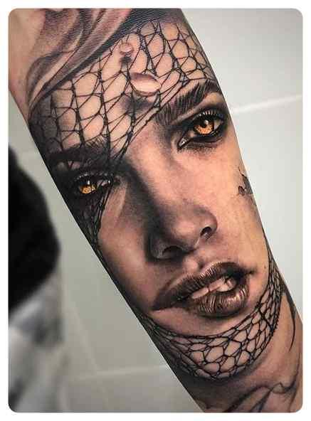 Increíbles tatuajes, son obras de arte sobre la piel. 1