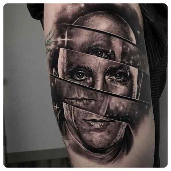 Increíbles tatuajes, son obras de arte sobre la piel. 3