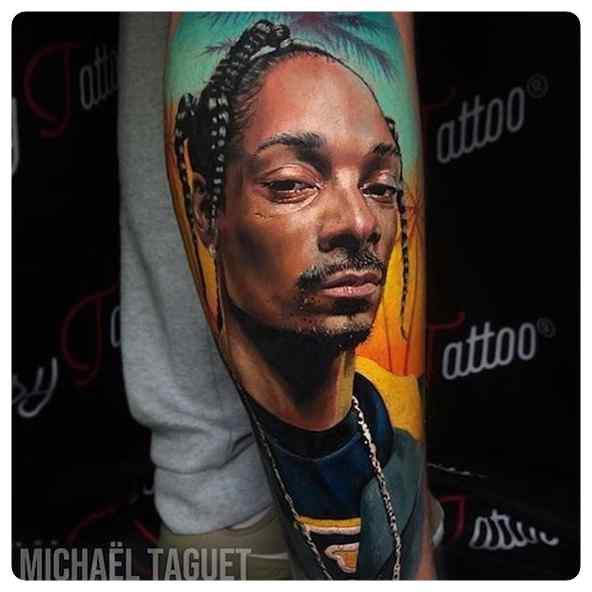 Increíbles tatuajes, son obras de arte sobre la piel. 4