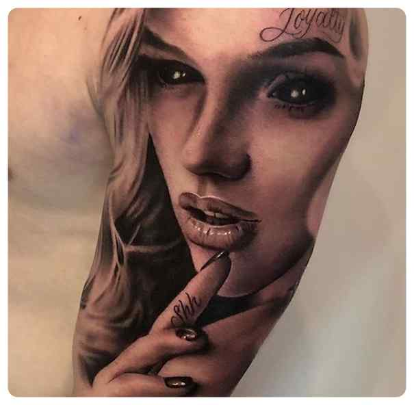 Increíbles tatuajes, son obras de arte sobre la piel. 5