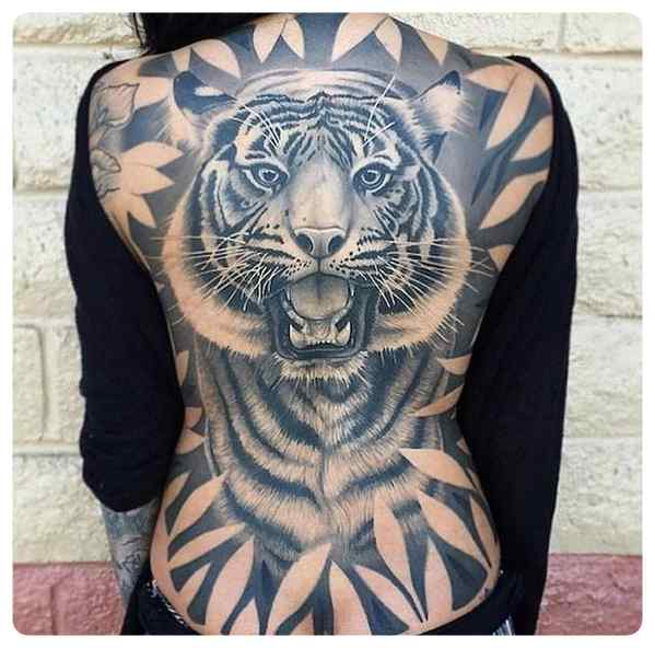 Increíbles tatuajes, son obras de arte sobre la piel.