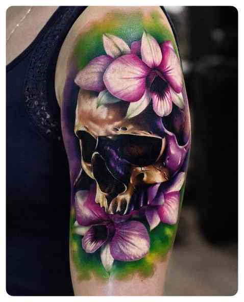 Increíbles tatuajes, son obras de arte sobre la piel. 7