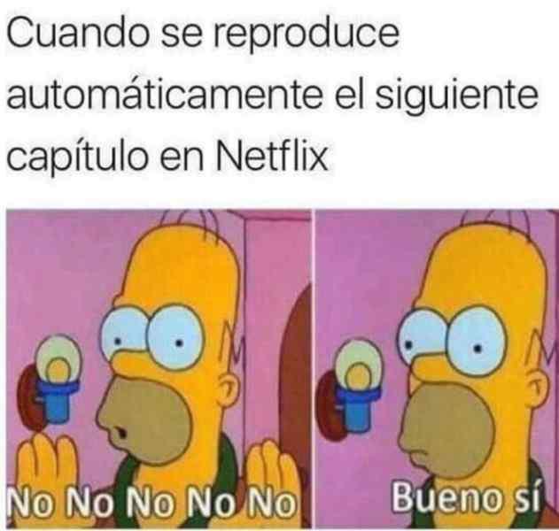 Cuando se reproduce el siguiente capítulo en Netflix.