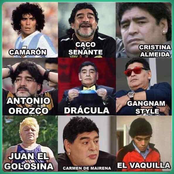 ¿Qué Maradona te siente hoy? 1