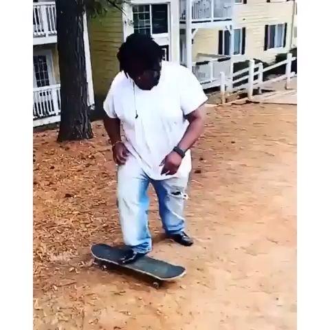 fail haciendo skate