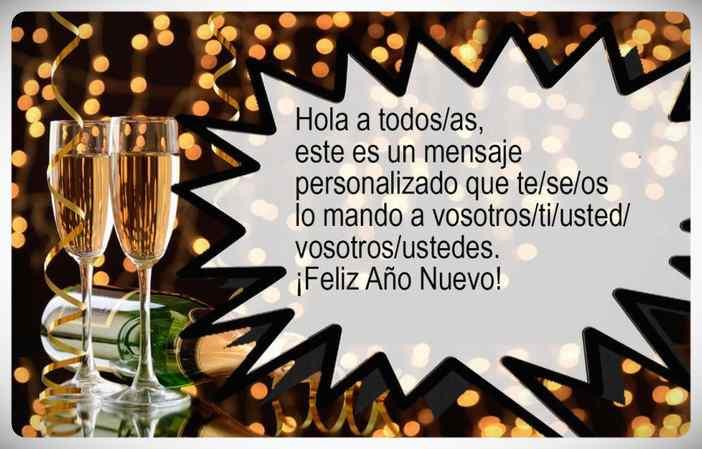 Felicitaciones de año nuevo para Whatsapp Gratis. 5