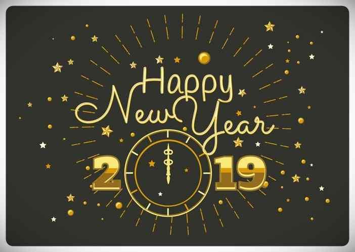 Felicitaciones de año nuevo para Whatsapp Gratis. 15