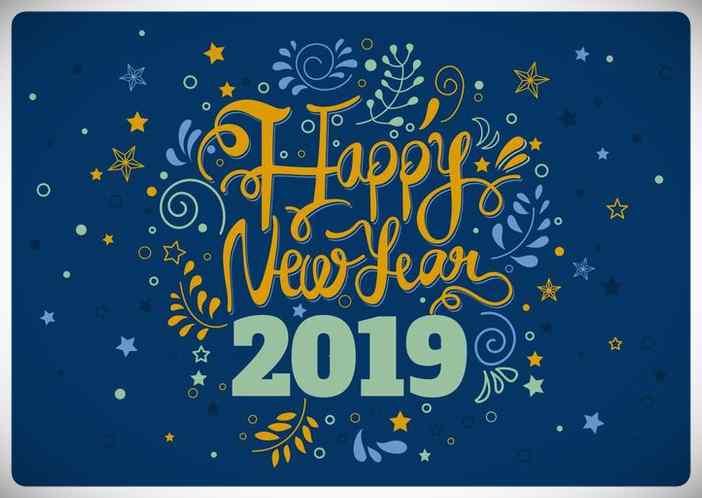 Felicitaciones de año nuevo para Whatsapp Gratis. 16