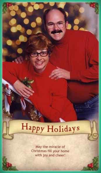 Esta familia lleva años enviando Felicitaciones de Navidad muy frikis a sus amigos y familiares. 4
