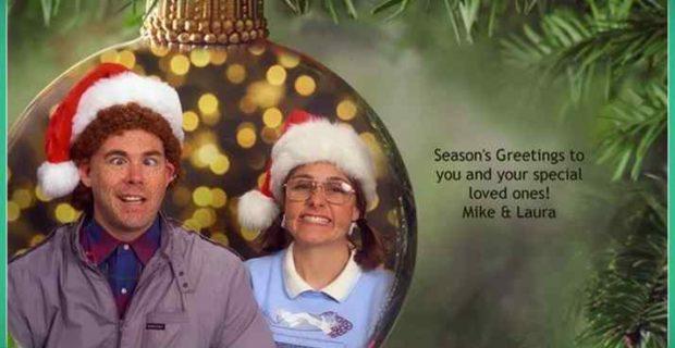 felicitaciones de navidad frikis 04 620x320 - Esta familia lleva años enviando Felicitaciones de Navidad muy frikis a sus amigos y familiares.