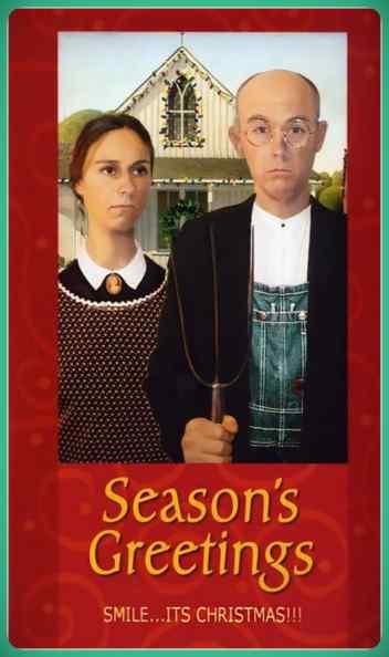 Esta familia lleva años enviando Felicitaciones de Navidad muy frikis a sus amigos y familiares. 6