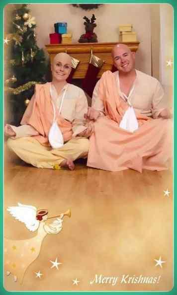 Esta familia lleva años enviando Felicitaciones de Navidad muy frikis a sus amigos y familiares. 7