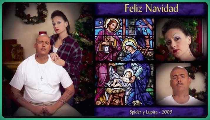 Esta familia lleva años enviando Felicitaciones de Navidad muy frikis a sus amigos y familiares. 8