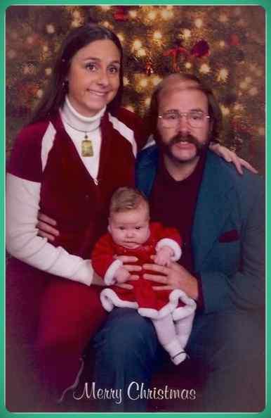 Esta familia lleva años enviando Felicitaciones de Navidad muy frikis a sus amigos y familiares. 9