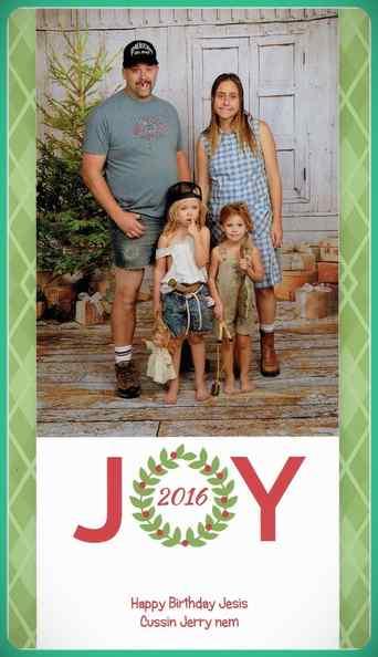 Esta familia lleva años enviando Felicitaciones de Navidad muy frikis a sus amigos y familiares. 15
