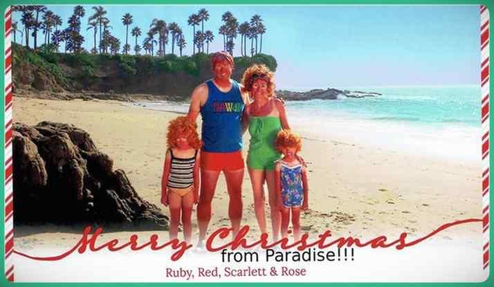 Esta familia lleva años enviando Felicitaciones de Navidad muy frikis a sus amigos y familiares. 16