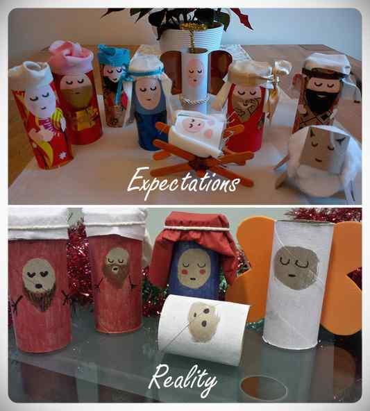 Decoraciones Navideñas que no han salido bien del todo. 14