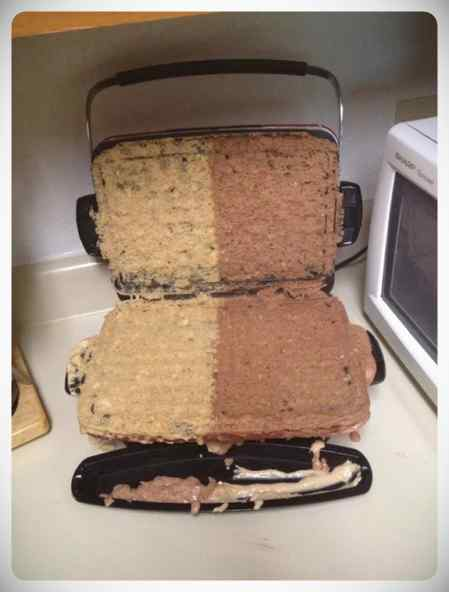 Desastres en la cocina, imágenes que te van a quitar el hambre. 5