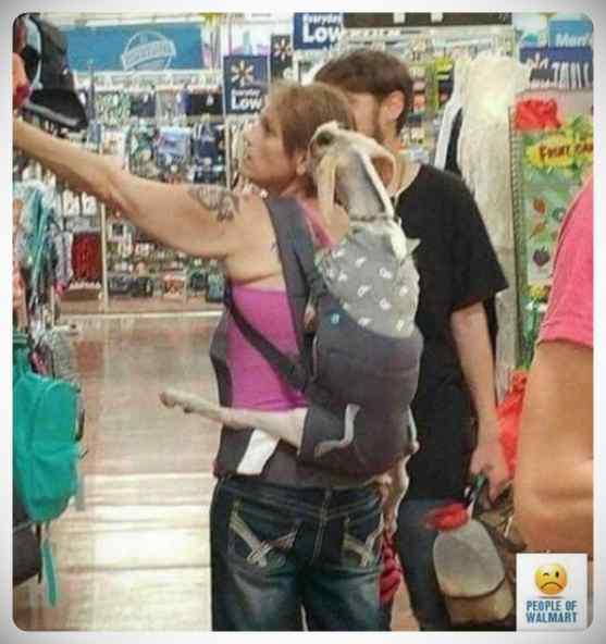 Gente rara en el supermercado, galería de imágenes. 9