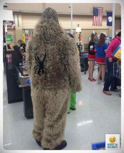 Gente rara en el supermercado, galería de imágenes. 4