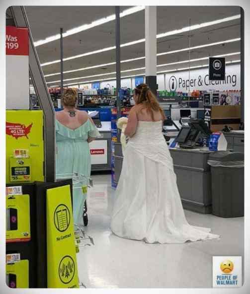 Gente rara en el supermercado, galería de imágenes. 1