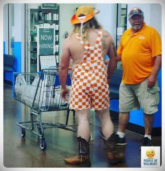 Gente rara en el supermercado, galería de imágenes. 7