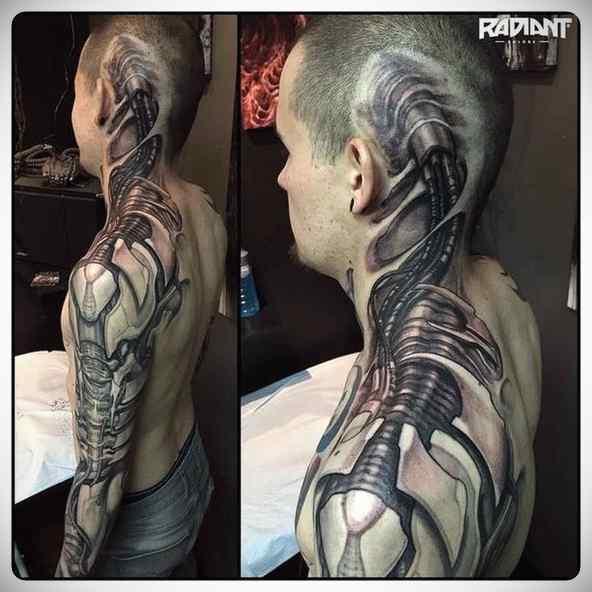 Increíbles tatuajes en 3D. 6