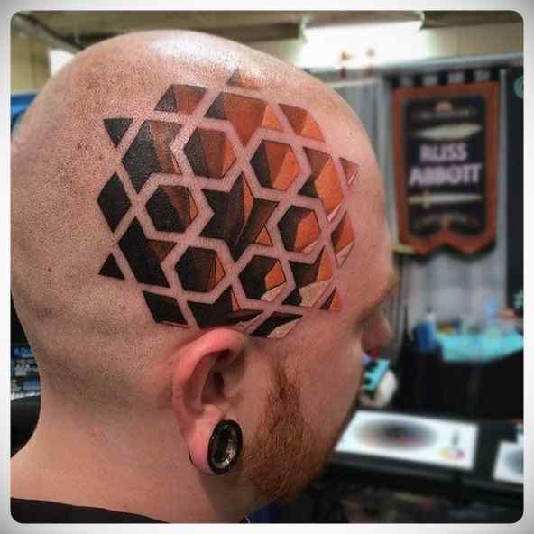 Increíbles tatuajes en 3D. 7