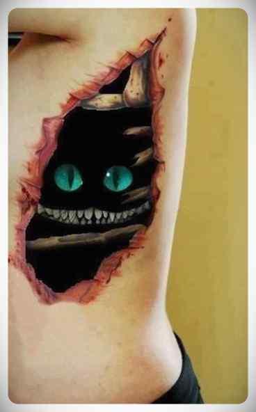 Increíbles tatuajes en 3D. 8