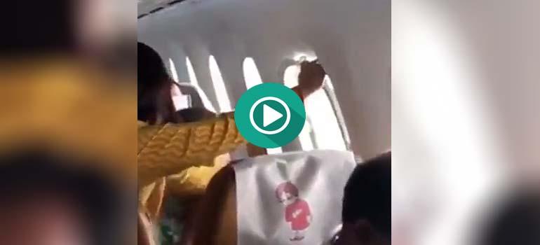 Cuando quieres ventanilla en un avión, y la quieres de verdad.