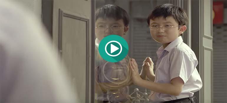 Este anuncio Tailandés de un Banco es un poco duro.