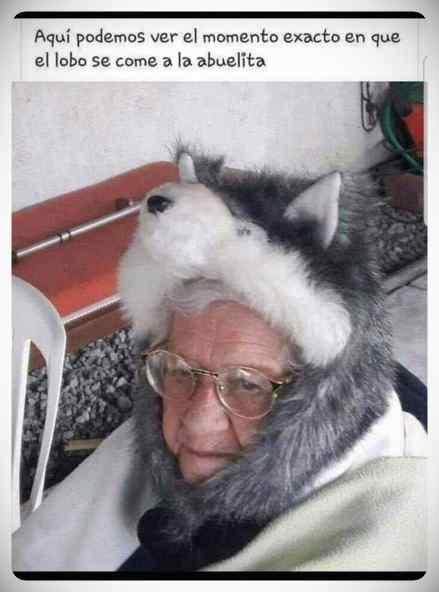 Cuando el lobo se come a la abuelita... 22